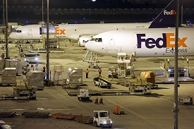 FedEx's Paris air hub