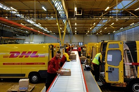 The new DHL Express Creteil depot