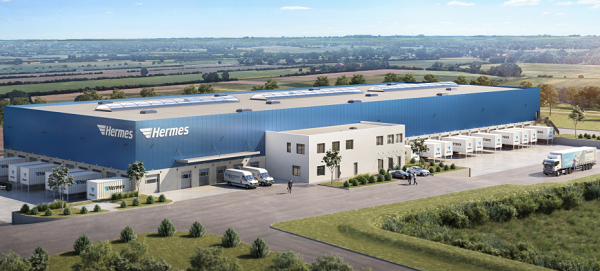 New Hermes Weyhe logistics centre