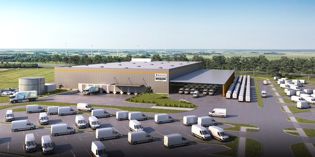 Amazon's Wilhelmshaven distribution centre