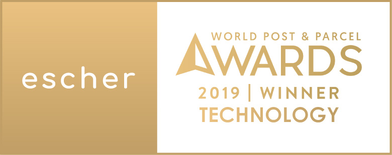World Post & Parcel Awards: Escher is the winner in Technology 2019