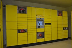 Parcel lockers are one of Austrian Post's innovations