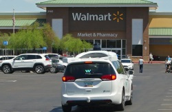 Walmart tests Wyamo self-driving cars