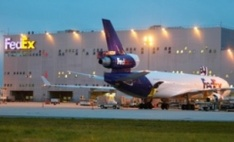 FedEx's Paris hub