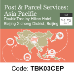 Post & Parcel Services - Asia Pacific - Beijing Oct 24-25