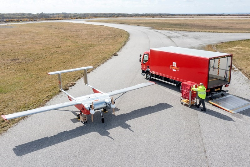 Royal Mail tests drone flights