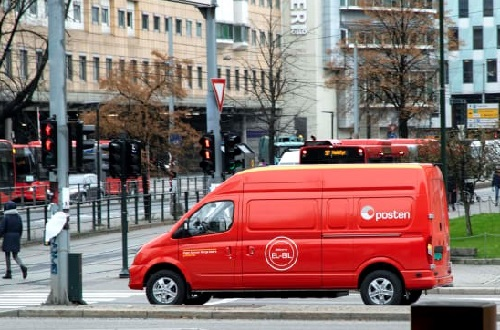 Norway Post delivers emissions-free in Oslo