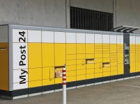 Swiss Post's 100th terminal