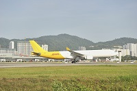 The first DHL Express A330-300F