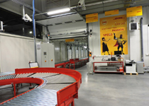 The new DHL Express terminal in Lodz