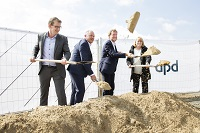 The DPD ground-breaking at Melsdorf
