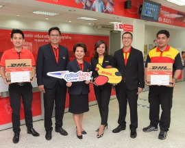 DHL Express and Thailand Post join forces