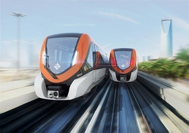 DHL ships Metro trains to Riyadh
