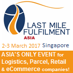 Last Mile Fulfilment Asia, 2-3 March 2017, Singapore